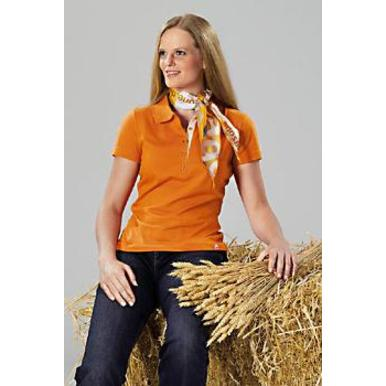 Damen-Team-Poloshirt, orange | Damen | Artikelnummer: ML023