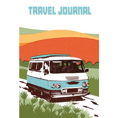 Sukie Camper Travel Journal | Reisetagebuch, 13,5 x 19,5cm | Artikelnummer: 9781452145846
