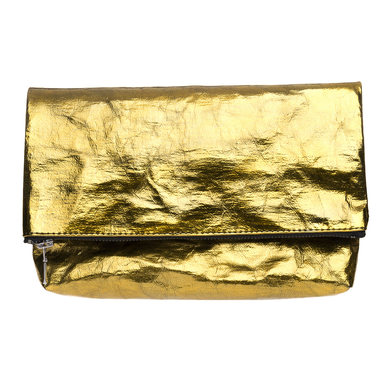 Folded Clutch | Design Papier Langackerhäusl | Artikelnummer: Design_020_metallic_gold