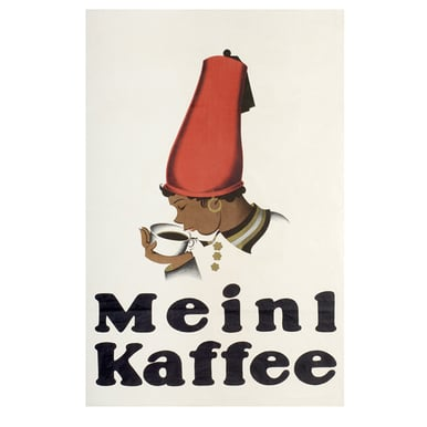 Advertising poster 1924 | Meinl Kaffee | Artikelnummer: PODE-PI-12-A4