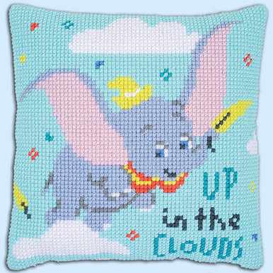 Dumbo up in the Clouds - Disney kruissteekkussen - Vervaco |  | Artikelnummer: vvc-176217