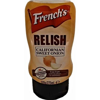 French´s Relish Californian Sweet Onion 275ml | MHD 22.02.20 | Artikelnummer: 100279