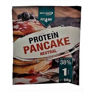 Fit4Day Protein Pancake neutral 50g | MHD 31.08.19 | Artikelnummer: 100180