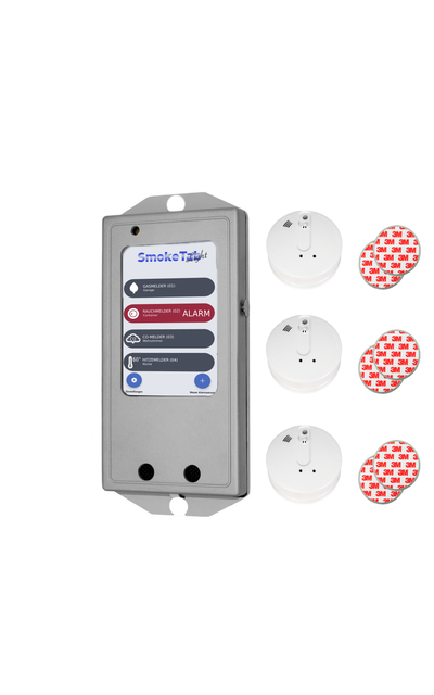 Fire protection system in protective housing | SmokeTab Flex | Code: 8229