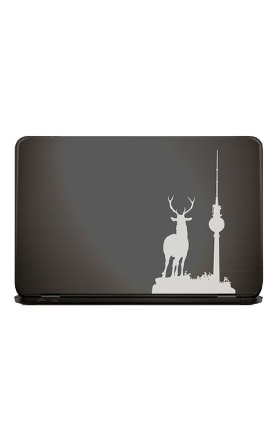 Notebook Macbook Sticker BERLIN EXPLORER Hirsch  |  | Artikelnummer: 92578563