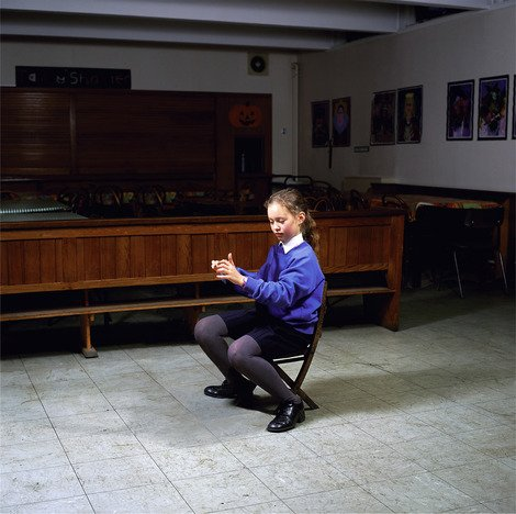 Clarsach Player, St. Marys Music School, Edinburgh, 1998 | Edition 20 | Artikelnummer: WMC_11_40x40FAL_SR5