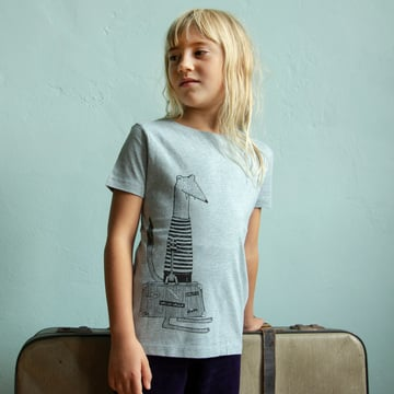 Reisewiesel T-Shirt      | heather ice blue | Artikelnummer: Cmig321