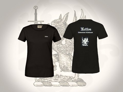 Krîfon T-Shirt Organic Cotton  - Ladies | Artikelnummer: TEX101