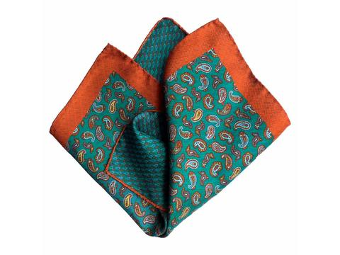 orange green paisley | Product code: 3073