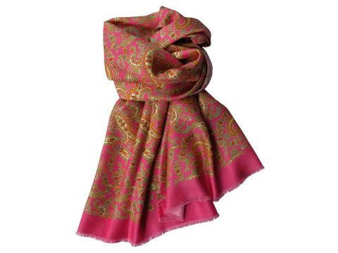 Scarf Pink paisley | Product code: 13001
