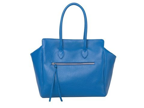 Kate | Day Bag Buffelleder blau M | Artikelnummer: NB 202-2