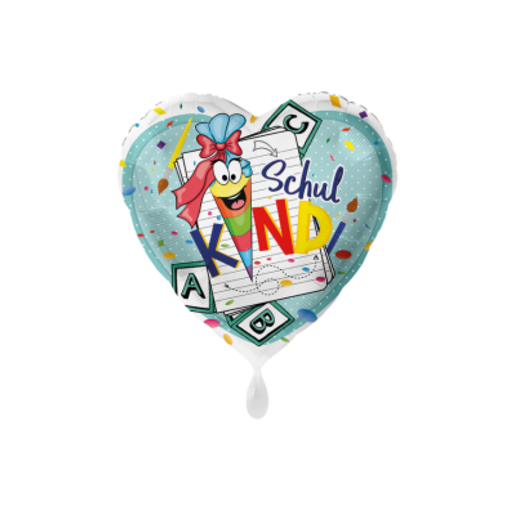 Folienballon Schulkind
