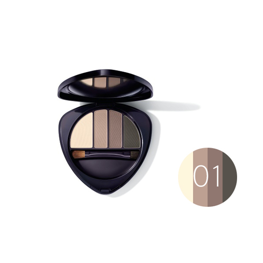 Dr.Hauschka Eye and Brow Palette 01 stone