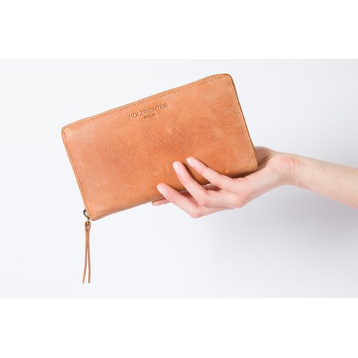 Wallet (M) | Camel-Brown | Artikelnummer: HR-WAL-4-2_c