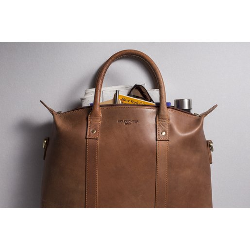 Tote (M) | Camel brown | Artikelnummer: HR-TO-12-2