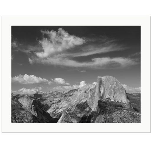 Half Dome and Cloud | Yosemite National Park, California, USA, 2017