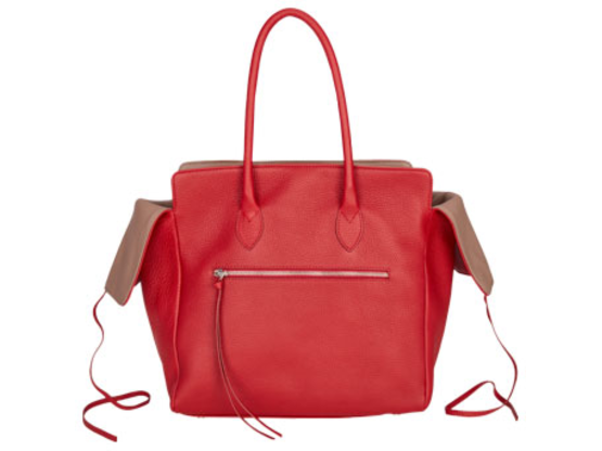 Kate | Day Bag Stierleder Rot M | Artikelnummer: NB 203-8