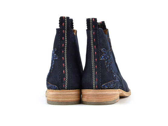JULIA Beach Navy | Chelsea Boot. Velours Leder. Urlaubsstimmung. | Artikelnummer: Torrent13353951_37