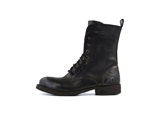 GIRLS - Combat Boot - BOND Schwarz | Thomas Hayo for CRICKIT | Artikelnummer: Valerie00255122_42