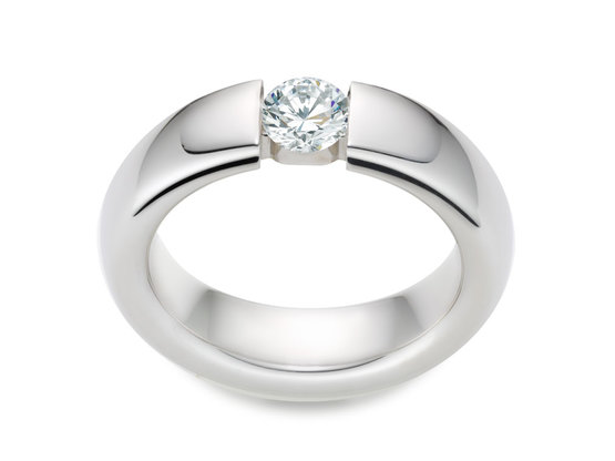 Diamantring Form 0.70 Karat in Premium Qualität | 950er Platin - Brillant in G - VS1 | Artikelnummer: FORPT070G