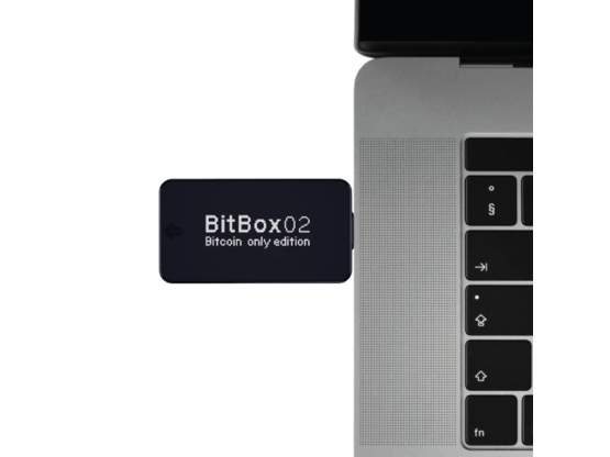 BitBox02 - Bitcoin only edition | Hardware Wallet | Product code: 0005