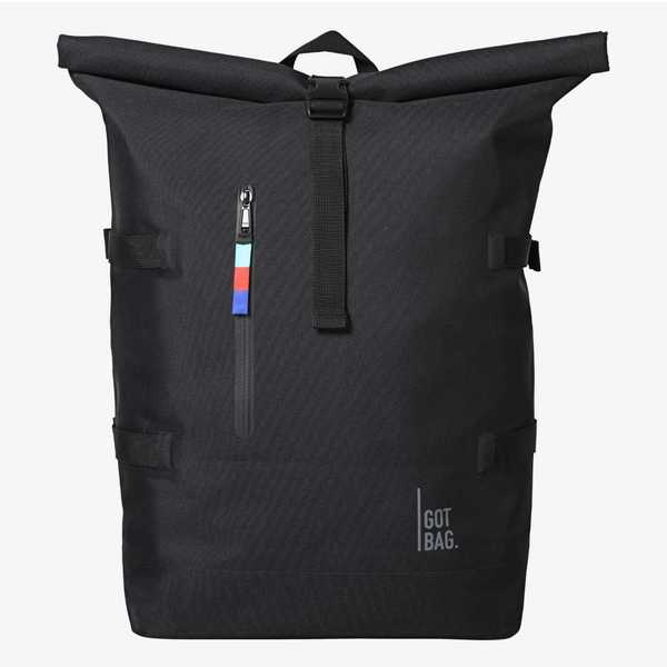 GOT BAG Rolltop Backpack schwarz