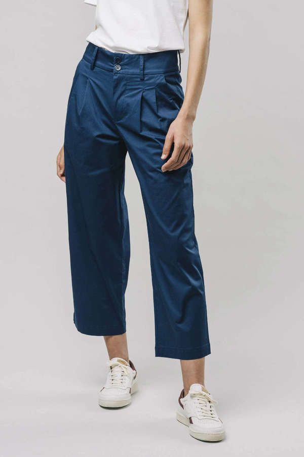 BRAVA Hose CHINO woman navy