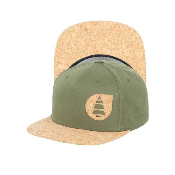 PICTURE Cap NARROW army green vorne