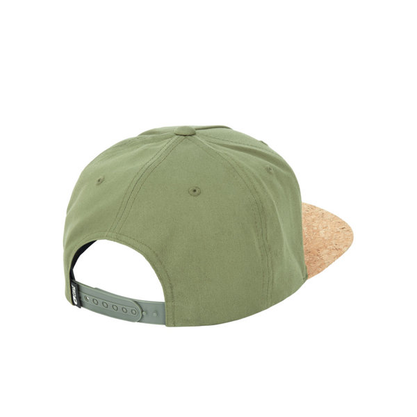 PICTURE Cap NARROW army green hinten