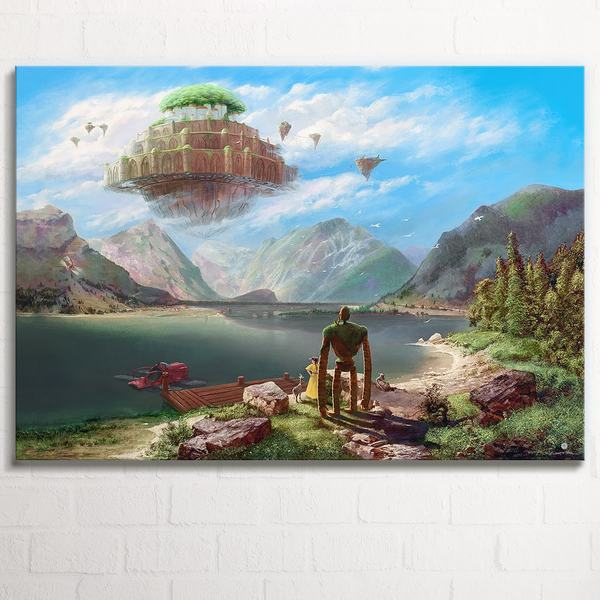 Laputa - Castle in the Sky over Achensee  XL