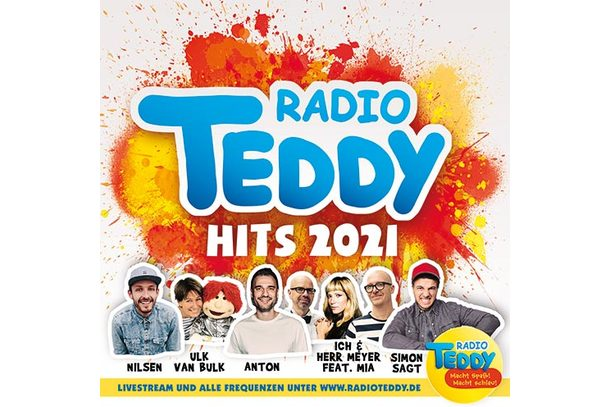 Radio TEDDY-Hits | Vol. 2021 | Artikelnummer: 878