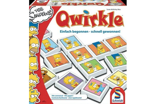 Qwirkle | SIMPSONS | Artikelnummer: 545