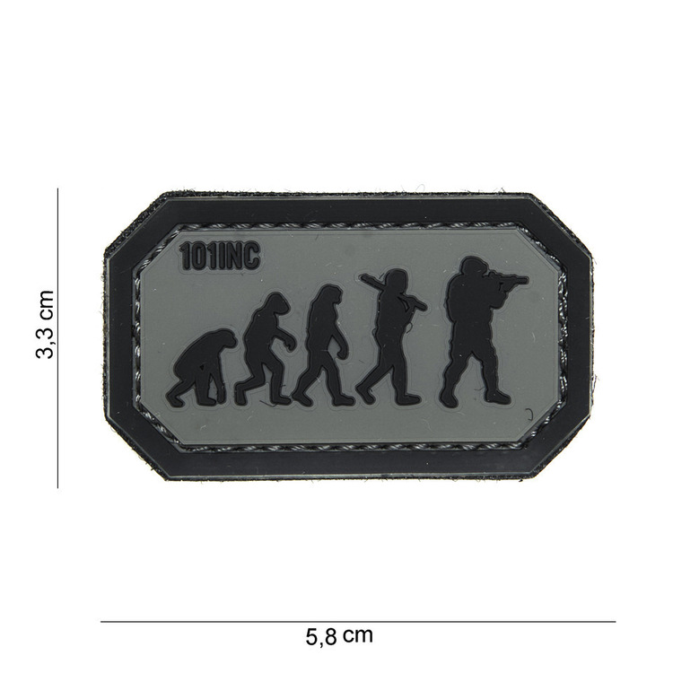 3D Rubber Patch