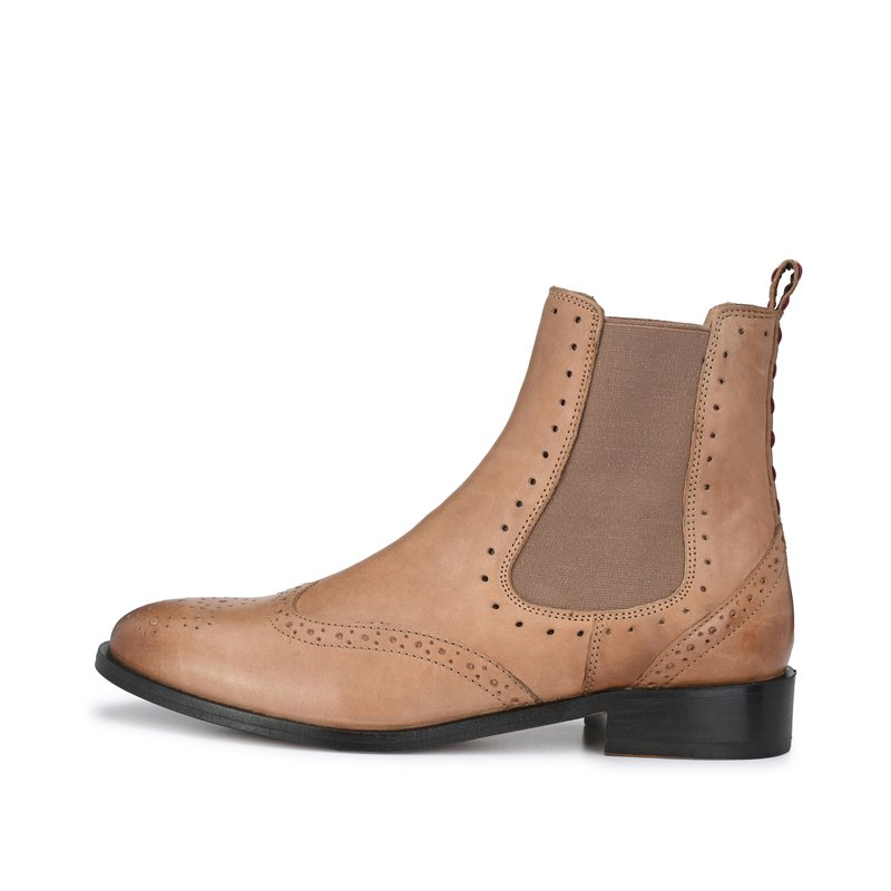 CRICKIT-Chelsea Boot Stiefelette-HELEN Taupe