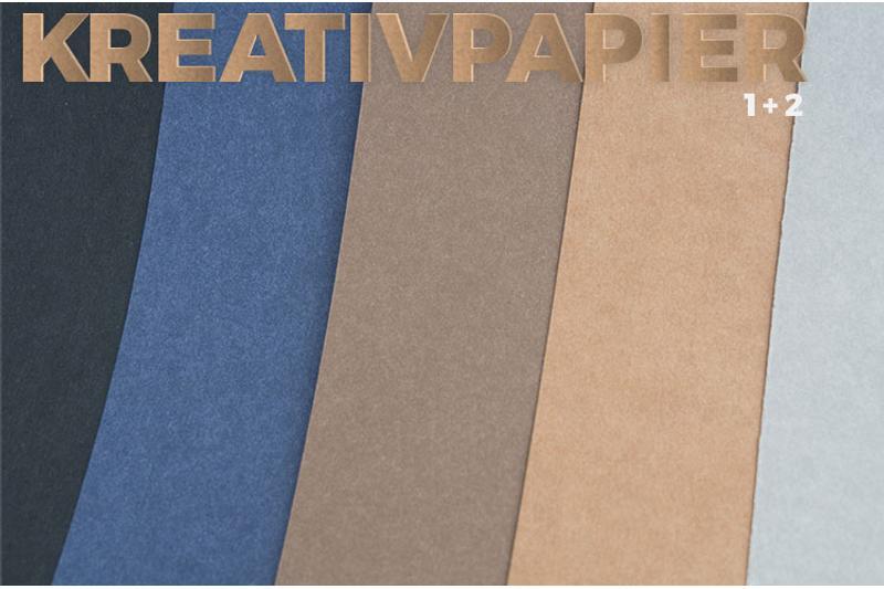 Swafing Kreativpapier 1 Papierstoff Uni Grau Gewichtca 275 Gm²