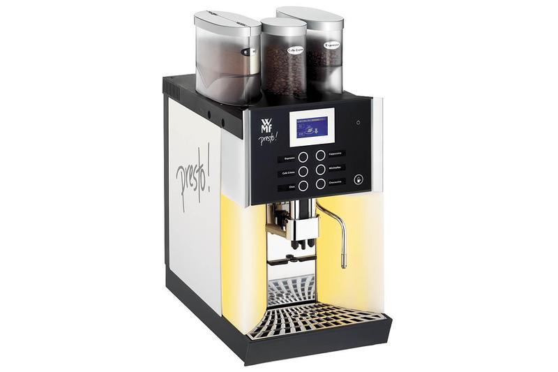 kaffeemaschine vollautomat wmf presto b s mietshop. Black Bedroom Furniture Sets. Home Design Ideas