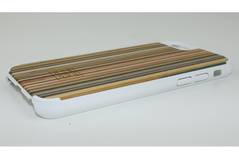 sachentransporter holzkiste aus regenbogenholz weiss iphone 6 6s handgearbeitet und aus. Black Bedroom Furniture Sets. Home Design Ideas