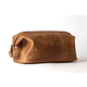 Wash Bag (M) Camel-Brown