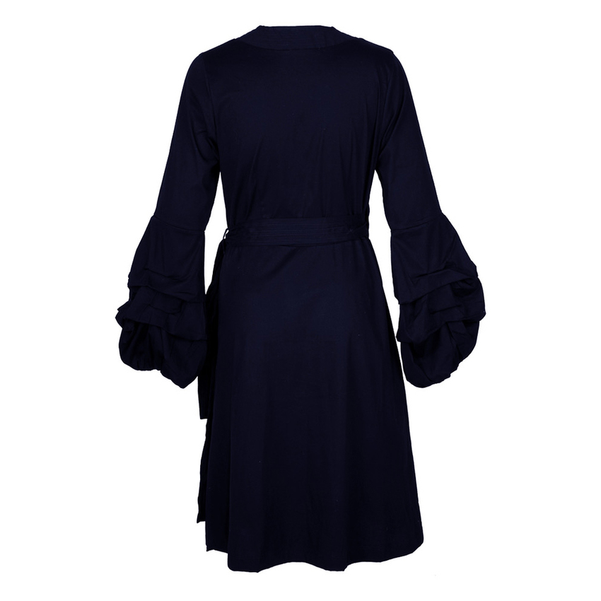 goldmarie Wickelkleid KISS navy