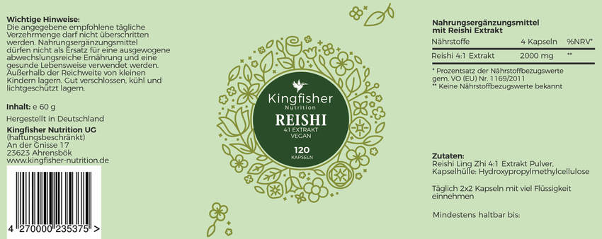 Reishi Label