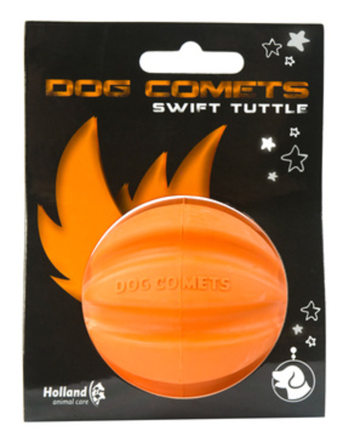 DOG COMETS BALL SWIFT TUTTLE ORANGE 2