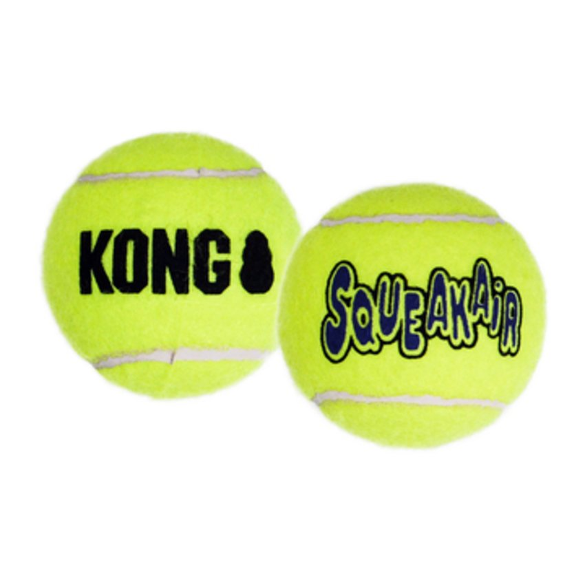 Kong Air Sqeaker Tennisball 1