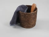 BASKET DECOR WALTHER ZK Rattan dunkel