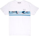 Billabong Team Stripe Herrenshirt T-Shirt white