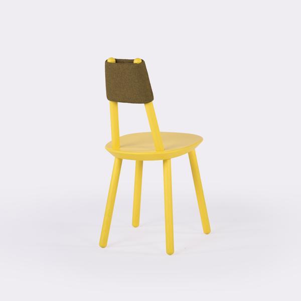 Designer stuhl naive aus massivholz gelb emko for Stuhl design gebraucht