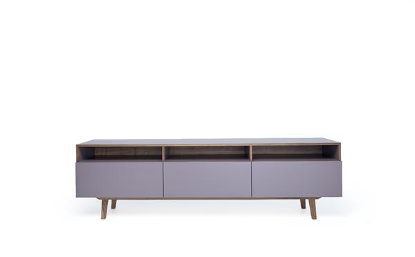tv unterschrank aus nussbaum mint furniture. Black Bedroom Furniture Sets. Home Design Ideas