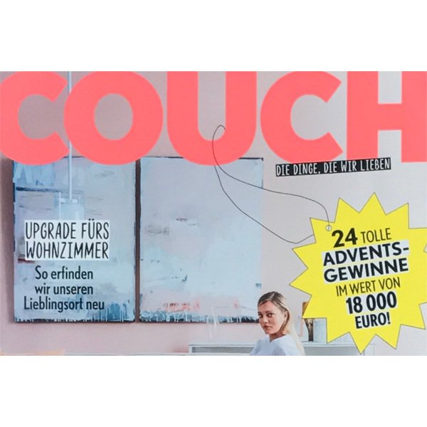 Multifunctional Pill im neuen Couch Magazin