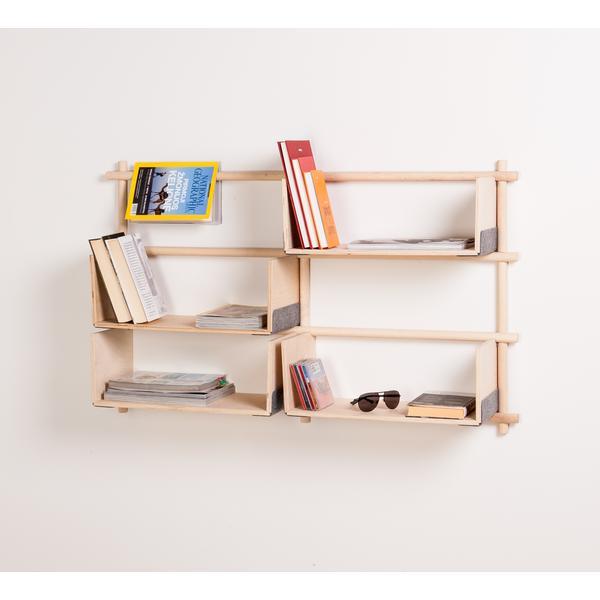 Originelle Bücherregale designer regale sideboards kaufen