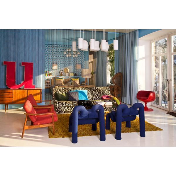 Homestory im blog ppige retro wohnung for Wohnung design blog
