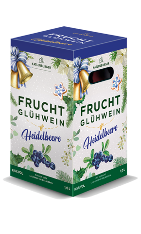 Fruchtglühwein Heidelbeere Bag-in-Box